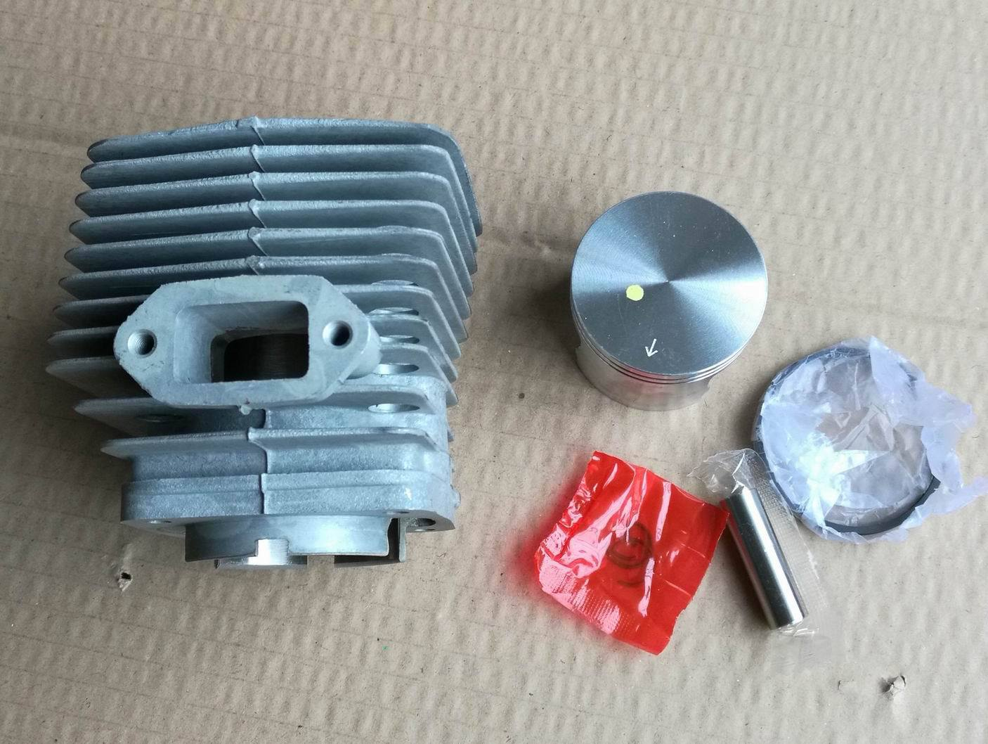 Free Shipping Cylinder for Stihl FS550  FS420 (46mm) Nikasil Plated Cylinder Kit|Cylinder Body & Parts| |  - title=