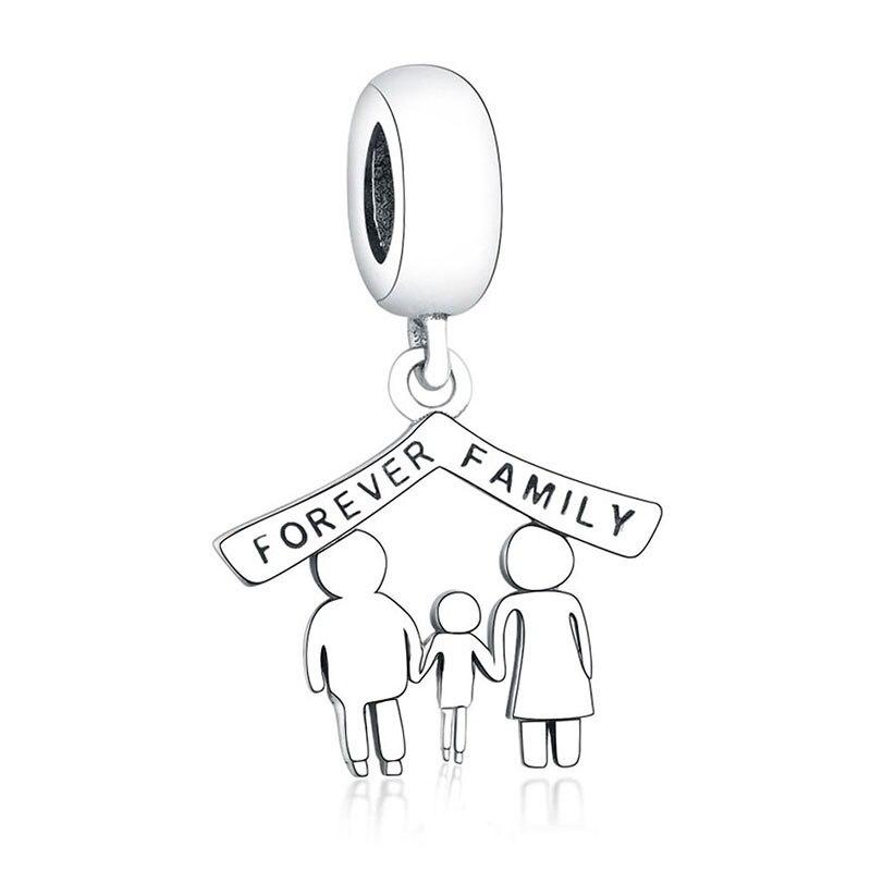 Подходит браслет Pandora Подвески из стерлингового серебра 925 пробы мальчик талисман для девушки Подвеска-бусы DIY ювелирных изделий дизайн Berloque - Цвет: PL01172