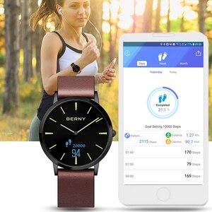 Image 2 - Sport Bluetooh Hallowmas Smart Heart Rate Smartwatch Sedentary Reminder Sleep monitor relogio inteligente Sport W203