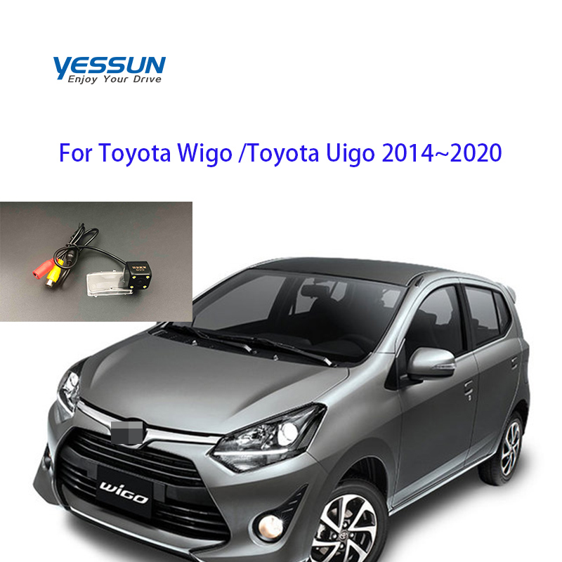 Car Parking System Rear Camera For Toyota Wigo Toyota Uigo 2014 2015 2016 2017 2018 2019 2020 CCD License Plate Camera