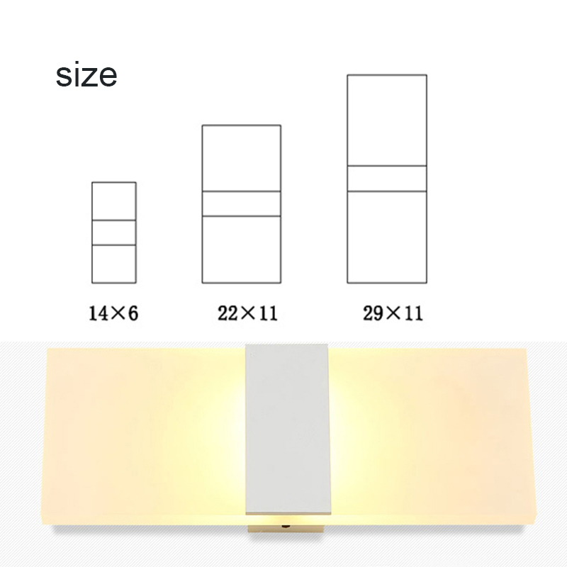 <font><b>LED</b></font> Wall Light-up Down <font><b>Cube</b></font> Indoor Outdoor Sconce Lighting Lamp Fixture Decor GQ image