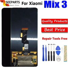 цена на For 6.39 Xiaomi Mi Mix 3 LCD screen display touch panel digitizer Mi mix 3 lcd display with touch Mix 3
