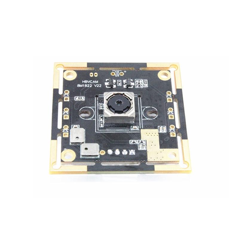 HBVCAM Modulo Telecamera USB Usb3.0 Interfaccia 8MP Zoom Digitale Della Macchina Fotografica Modulo Per WinXP/Vista/Win7/Win8 Linux