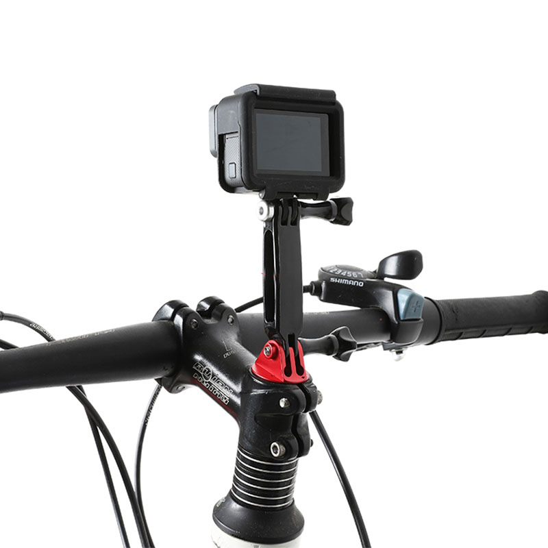 //3 //2//1 Handlebar Seatpost Big Pole Mount Bike Moto Bicycle Clamp with Tripod Mount Adapter /& Screw for GoPro NEW HERO //HERO6 //5 //5 Session //4 Session //4 //3 Xiaoyi and Other Action Cameras Durable