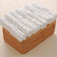Муслиновые подгузники из плотной ткани, Детские многоразовые подгузники, моющийся абсорбент, подгузники, подгузник для новорожденных, 6 шт
