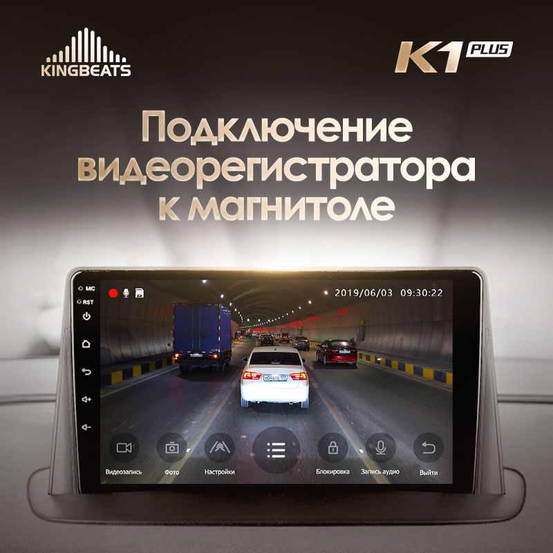 KingBeats 8.1 head unit 4G di Dash Mobil Radio Pemutar Video Multimedia GPS Navigasi Untuk Renault Megane 3 2008 - 2014