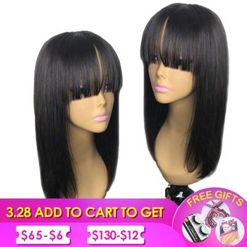 Peruka z naturalnych krótkich włosów peruki z ludzkich włosów peruka krótka dla czarnych kobiet brazylijski proste włosy ludzkie peruki Dorisy przedłużanie nie Remy włosy 10-16 Cal tanie i dobre opinie Brazylijski włosy Średnia wielkość Średni brąz Ciemniejszy kolor tylko Elastyczne koronki Human Hair Wigs Natural Black Color Can Be Dyed And Bleached