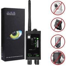 1MHz 12GH Radio Anti Spy Detektor FBI GSM RF Signal Auto Tracker Detektoren GPS Tracker Finder Bug mit Lange Magnetische LED Antenne
