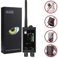 Détecteur danti espion Radio 1MHz 12GH détecteur de traqueur automatique de Signal de FBI GSM RF détecteur de traqueur de GPS avec lantenne de longue LED magnétique
