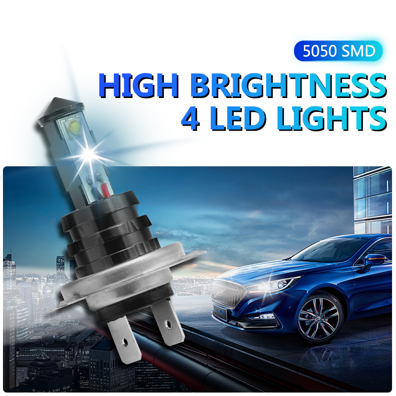 KAHANE 2x 20W H7 LED Car Light High Power Fog Light Headlight Bulbs Day Time Running Light For VW T5 Passat Golf Touran Polo