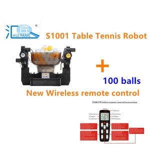 Image 1 - HUIPANG S 1001 ตารางเทนนิสหุ่นยนต์/แบบพกพาประหยัดMulfunctional Good PartnerสำหรับPractice