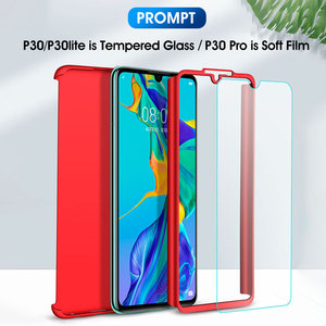 360 Полное покрытие противоударный чехол для телефона для huawei P30 Pro P20 Lite Коврики 10 20 Nova 3 4 Honor 7A 7C Y6 Y7 Y9 2018 2019 P Smart плюс крышка