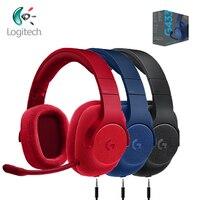 Logitech g433 jogos fones de ouvido 7.1 surround para todos os gamer com fio fones de ouvido com microfone para pc ps4 xbox um interruptor nintendo vr pc|Fones de ouvido| |  -