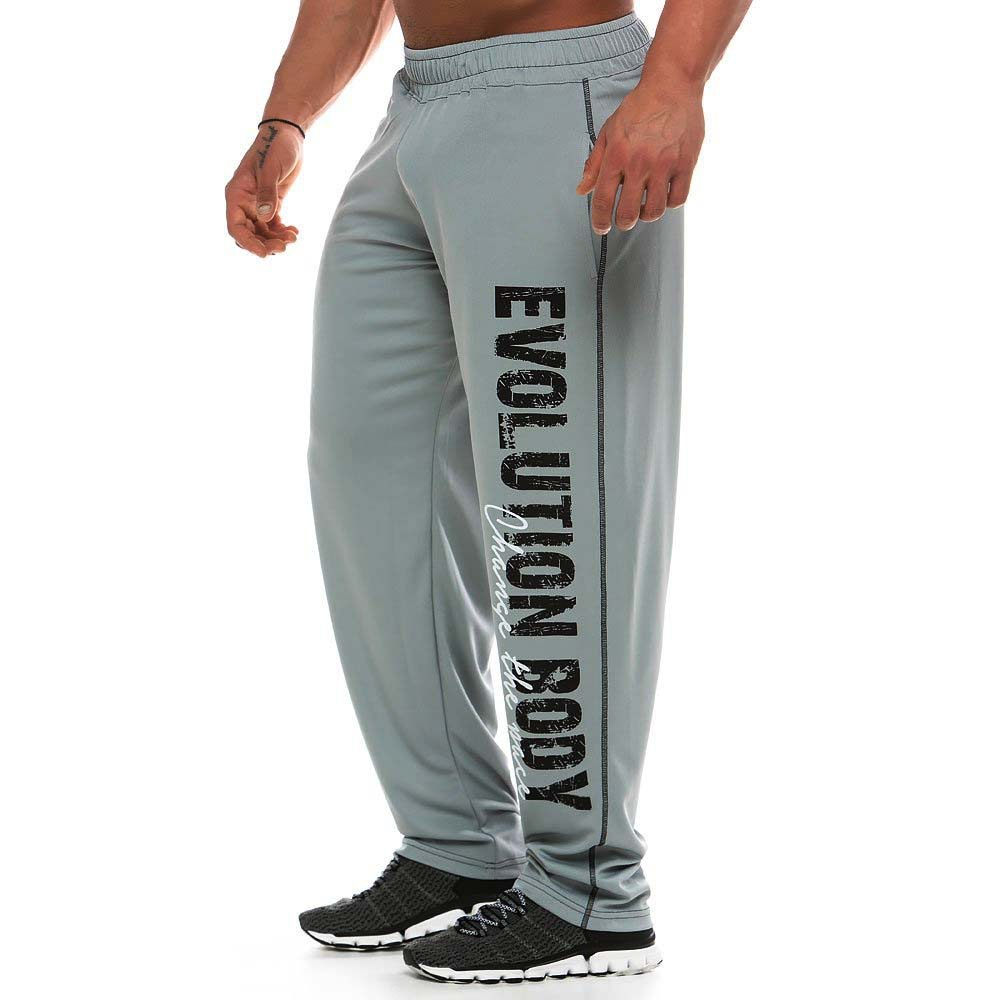 Cotton Sweatpants Joggers Elastic Fitness-Training Autumn Men's Casual Fashion Waistband