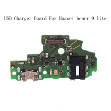 For Huawei Honor 9 lite USB Plug Charger Board Microphone Module Cable Connector For Huawei Honor 9 lite Replacement Repair kit for huawei honor 6a 8x case soft tpu silicone for huawei honor 9 lite cover wolf patterned for huawei honor 10 10 lite bumper