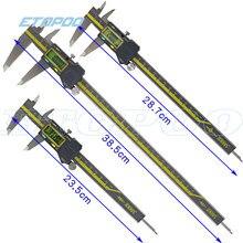 0-150mm 0-200mm 0-300mm terma abs origem digital caliper ip54 à prova de água eletrônico vernier caliper micrômetro medidor de medição