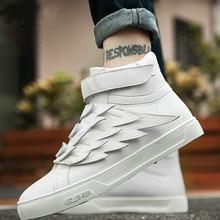 Hip-hop Tide Shoes non-slip White Shoes men Fashion Sneakers