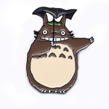 20pcs/lot Studio Ghibli Enamel Pin Totoro Brooches for Boys Girls Lapel Hat/bag Pins Denim Jacket Brooch Badge D117