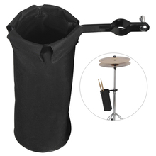 Adjustable Drum Barrel Drumstick Package Bag Case 600D High Capacity Instrument Accessory