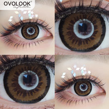 Ovolook 1 пара 2 шт линзы контактные Цвет ed для глаз (3 оттенка