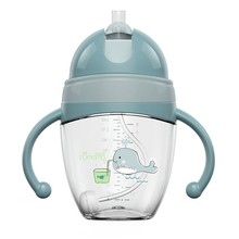 Baby Feeding Bottles Cups Kids Water Milk Bottle Soft Mouth Duckbill Sippy Infant Drink Training Feeding Bottle(China)