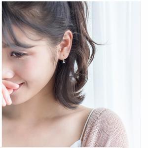 Image 3 - 2019 yeni küçük 925 ayar gümüş asılı saplama küpe kadınlar için yıldız çapraz kalp top dilim Charm küçük çıtçıt küpe XY900