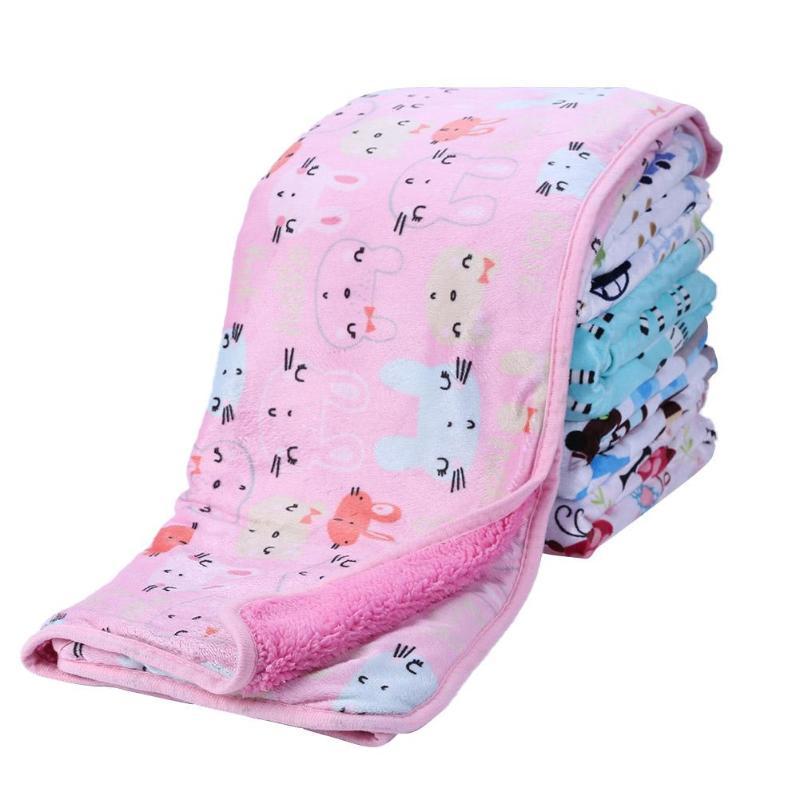 Air Conditioning Blanket Baby Sofa Warm Blanket Environmental Friendly Safe Printing Process Office Nap Shawl Bedsheet