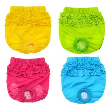1PC Cat Pants Dog Shorts Physiological Pants For Small Dogs Washable Female Shorts Panty For Dogs Underwear image
