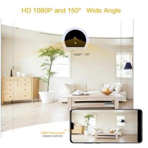 Image 4 - 1080P HD Mini kamera bezprzewodowa bezpieczeństwo w domu noc lekka ładowarka Wifi kamera IP noktowizor DV nagrywarka dvd ukryta karta