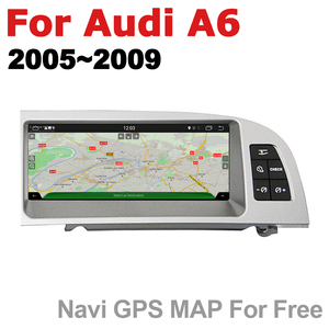 Image 5 - Car Radio 2 din GPS Android Navigation For Audi A6 4F 2005~2009 MMI AUX Stereo multimedia touch screen original style radio