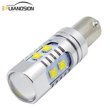 цена на 1PC 50W 680LM Super Bright XB-D 10-SMD BA9 BA9S BAX9S H6W BAY9S H21W Canbus LED Car Light Bulb AC/DC 12V 24V Xenon White Yellow