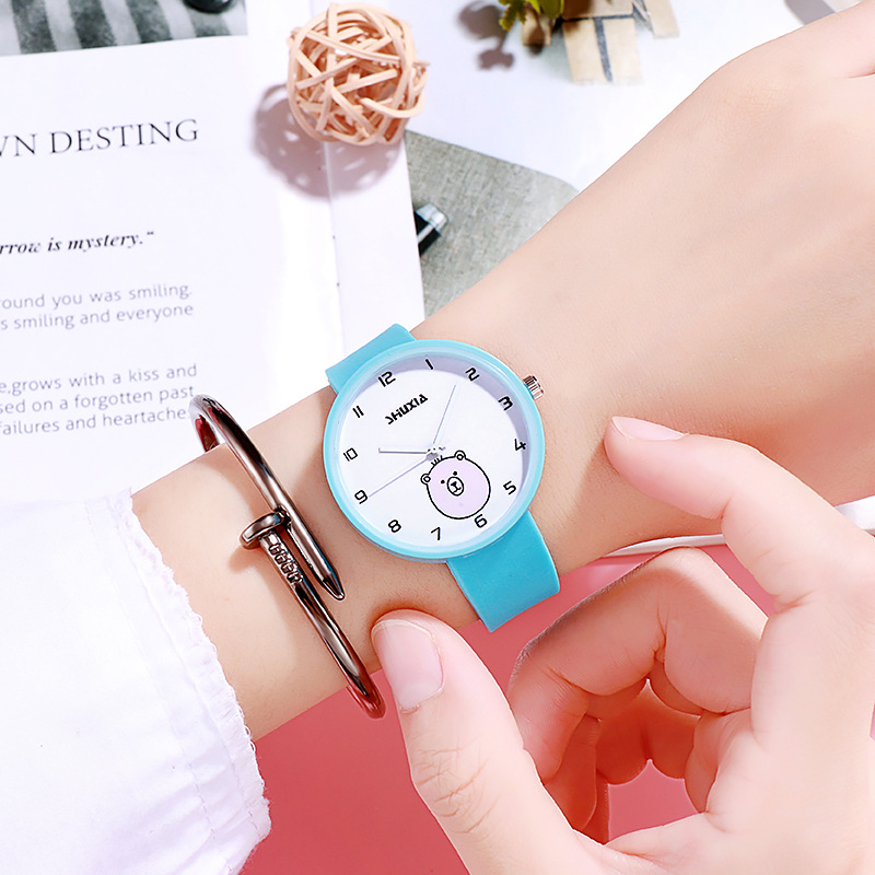 Women Watch For Kid Student Clock Child Girl Cute Little Bird Kids Watches Baby Cartoon Toddler Children Pointer Quartz Watch