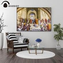 Allenjoy pinturas al óleo Vintage Roma Italia arte renacentista carteles de lona imágenes de historia clásica impresiones de la pared de la sala de estar