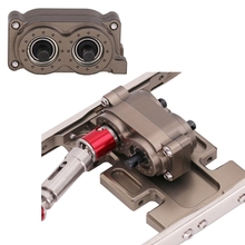 SCX10 CNC Metal Forward and Reverse Transfer Case for SCX10 90046 D90 D110 1/10 RC Crawler Car DIY Assembled Accessories
