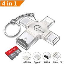 Ingelon – Adaptateur de micro cartes SD 3,0, dhc/sdxc vers xqd, adaptateur OTG usb pour lumière,