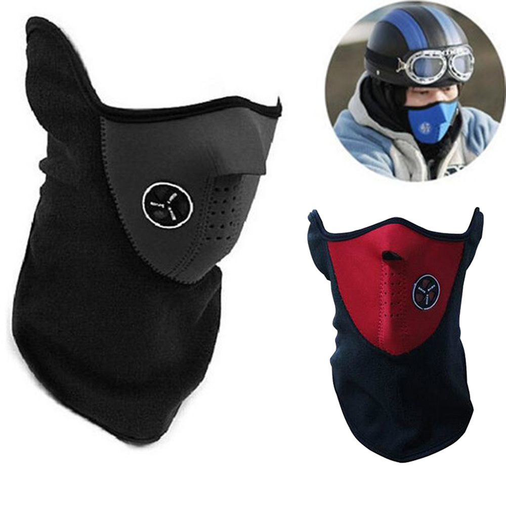 Cycling Neck Motorcycle Face Mask Winter Warm Ski Snowboard Wind Cap Balaclava Tactical  Mascara Ski Mask Gangster
