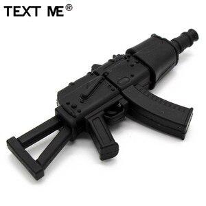 Image 4 - TEXT ME cartoon 100% prawdziwa pojemność 5 model pistolet pamięć usb 2.0 4GB 8GB 16GB 32GB pendrive 64GB usb2.0