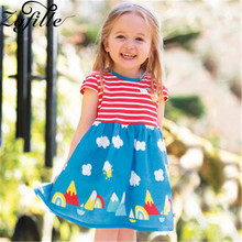 ZAFILLE Cute Baby Girl Clothes Patchwork Girls Dress Kids Clothes Cotton Girls Clothing Toddler Summer Dress 2020 Infant Dress zafille baby girls clothes soft summer dress for girl sleeveless kids clothes toddler patchwork girl dress cotton girls clothing
