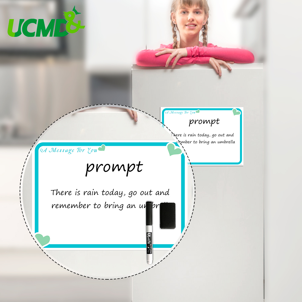 Magnetic Whiteboard Chore Study Daily Weekly Monthly Schedule Magnetic Fridge Stickers Family Message Reminder Board Office Memo
