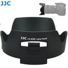JJC 카메라 렌즈 후드 꽃 그늘 CPL ND 필터 그림자 캐논 EF 24 105mm f/3.5 5.6 IS STM 렌즈 교체 캐논 EW 83M