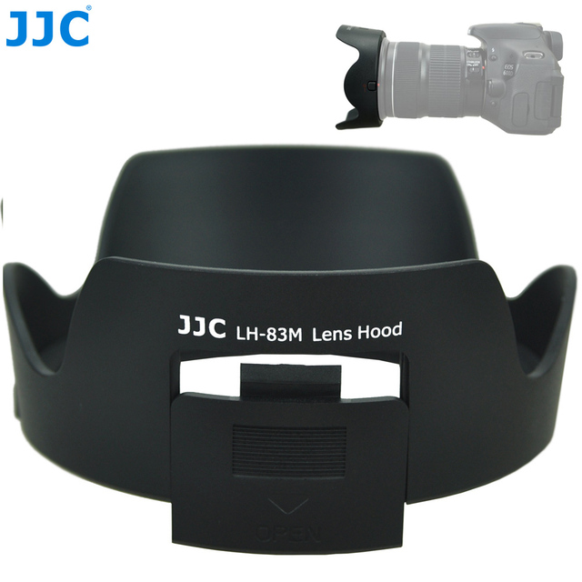 JJC Camera Lens Hood Flower Shade With CPL ND Filter Shadow for Canon EF 24 105mm f/3.5 5.6 IS STM Lens Replaces Canon EW 83M
