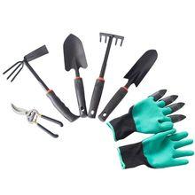 Подрезка растений в садоводстве набор инструментов маленькая Лопата растение цветок страхование труда перчатки 448A