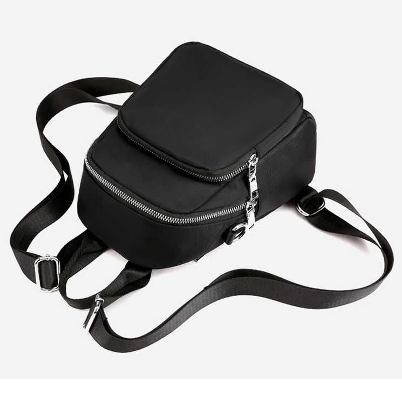 Simple Women กระเป๋าเป้สะพายหลัง Mochila โรงเรียนกระเป๋าสำหรับวัยรุ่นหญิงกันน้ำกระเป๋าเดินทางกระเป๋าเป้สะพายหลังผู้หญิง Oxford Bagpack