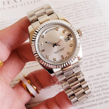 36mm Fashion Women Mechanical Watch Design Top Brand Luxury Full Steel Waterproof Female Automatic Clock Montre Femme(China)