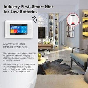 Image 5 - 3G GSM WIFI Sistema di Allarme di Sicurezza di controllo app Smart Home, Casa Intelligente GPRS SENZA FILI 433MHz Kit Allarme Con SENSORE PIR Siren sensore porta e RFID