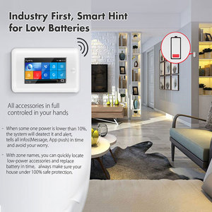Image 5 - 3G Gsm Wifi Draadloze 433Mhz Alarmsysteem App Controle Smart Home Alle Touch Screen Smartlife Gprs Draadloze alarm Kits