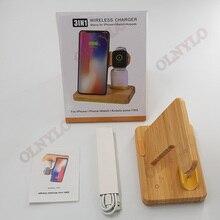 Multi funktion holz drahtlose ladegerät Schnelle lade Für Apple iPhone 8 Plus X Drahtlose Telefon Ladegerät Für Samsung S6 s7 S9 S8