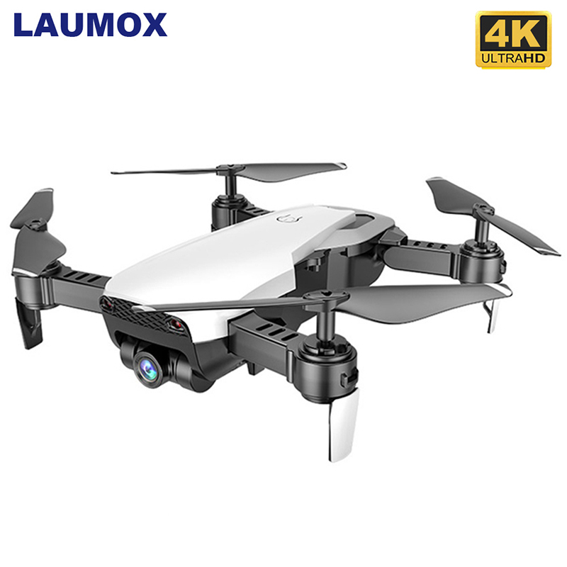 LAUMOX M69G FPV RC Drone 4K Camera Optical Flow Selfie Dron Foldable Wifi Quadcopter Helicopter VS VISUO XS816 SG106 SG700 X12 image