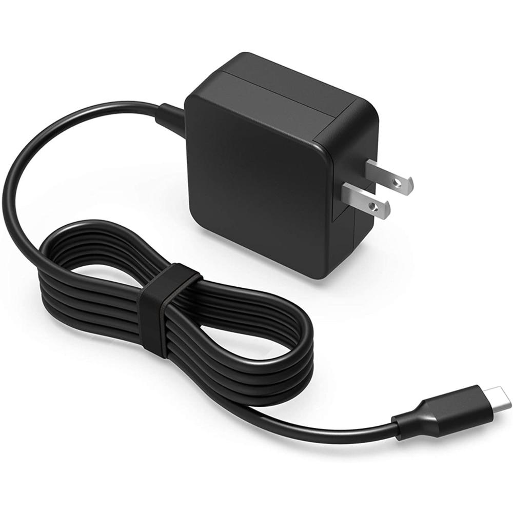 NUOVO 45W USB-c Adattatore Per Chromebook LENOVO 100e 300e 500e C330 C340 S330 S340