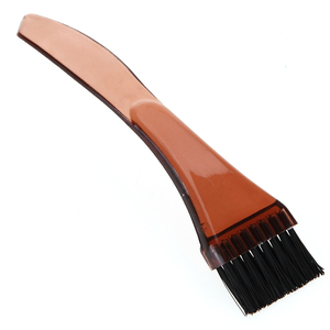 Image 2 - Plastic Handle with Tail Hair Dyeing Comb Pro Salon Tinting Brush Barber Coloring Highlighting Hair Brushes Hair Styling Tool